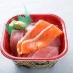 まぐろサーモン丼(2枚ver)
